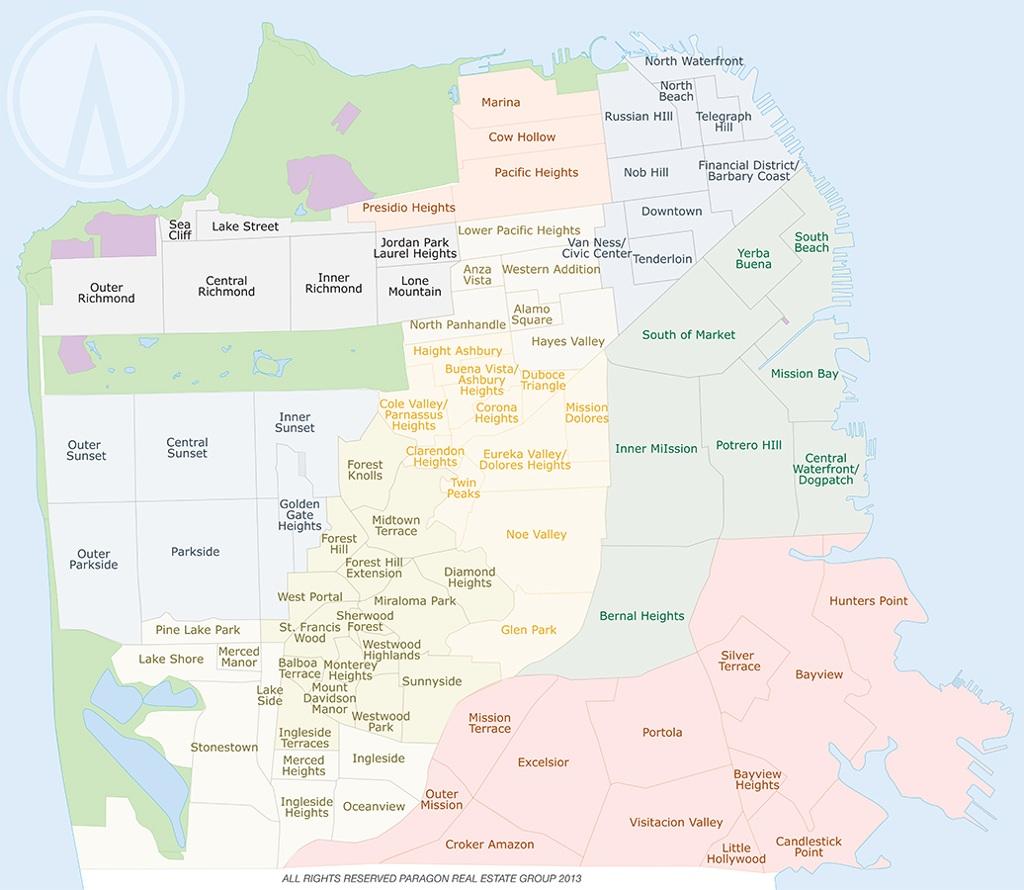 Demographics By Zip Code Map.San Francisco Demographics By Zip Code