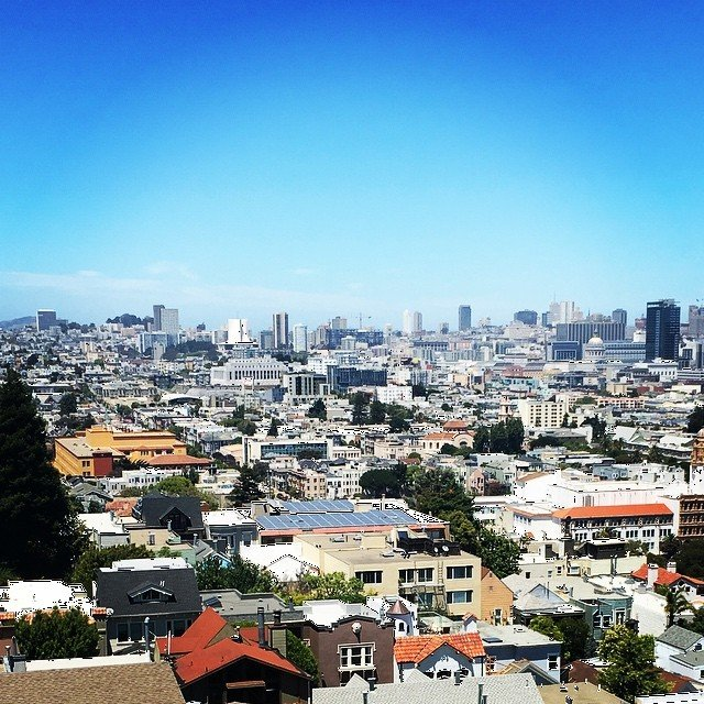 View from 369 Liberty while on Tuesday Tour.  #living415 Easy on the eyes. 369 Liberty St - https://api.sftheo.com/listings/e2561452-79e0-42b1-8eb1-b18049ae6749