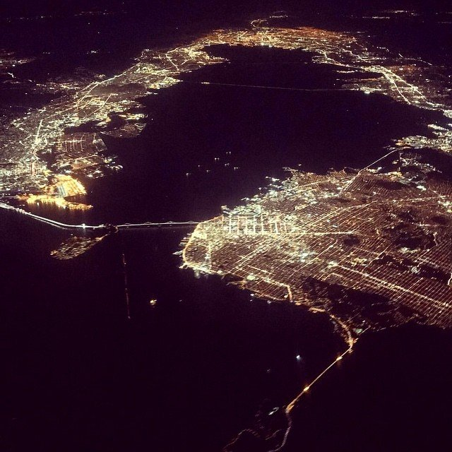 Taken by a friend last night ... can you find your house?  #living415